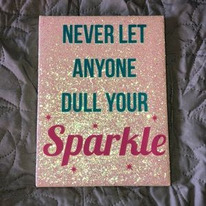 Cute inspirational wall hanging